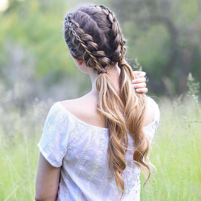 Instagram | Fashionisers© – Part 78 Intended For Latest Low Haloed Braided Hairstyles (View 5 of 25)