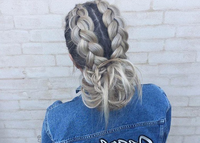 Instagram | Fashionisers© – Part 78 With Most Recently Low Haloed Braided Hairstyles (View 8 of 25)