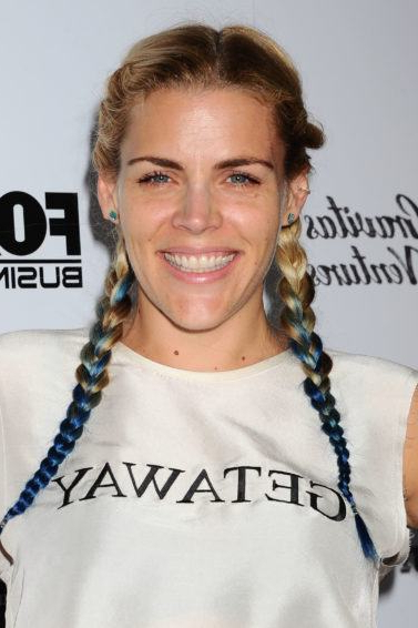 It Takes Two: Celebrity Inspired 2 Braids Hairstyles You In Recent Two Ombre Under Braid Hairstyles (View 17 of 25)