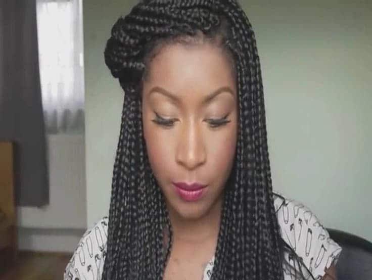 Latest Best Wedding Hairstyles In Kenya And Nigeria Regarding Newest Extravagant Under Braid Hairstyles (View 19 of 25)