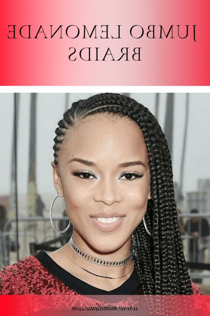 Lemonade Braids Hairstyles 2019 With Picture – Mimilanie Intended For Recent Cherry Lemonade Braided Hairstyles (View 21 of 25)