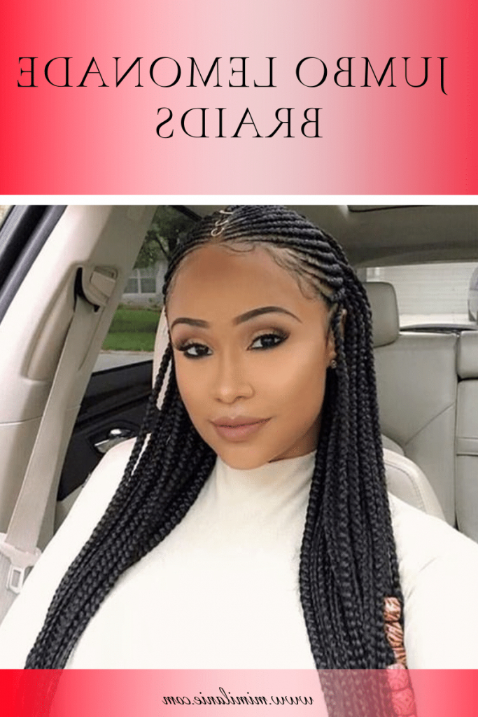 Lemonade Braids Hairstyles 2019 With Picture – Mimilanie With Newest Cherry Lemonade Braided Hairstyles (View 15 of 25)