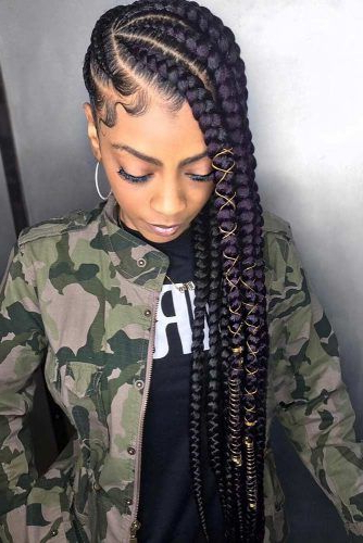 Lemonade Braids That Make Your Hair Style Even Sweeter For Recent Cherry Lemonade Braided Hairstyles (View 8 of 25)
