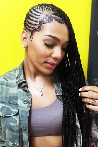 Lemonade Braids That Make Your Hair Style Even Sweeter Pertaining To Most Popular Classic Style Lemonade Braided Hairstyles (View 7 of 25)
