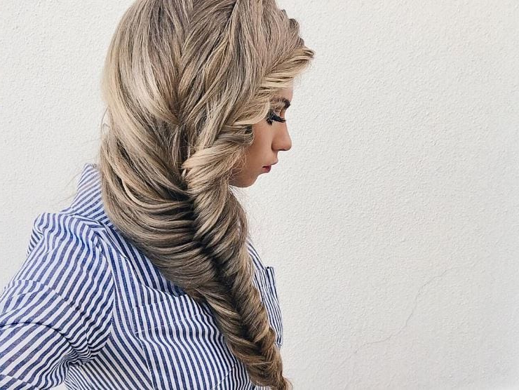 Long Blonde Hair Ideas: The 22 Best Styles You Should Try Out! Throughout 2018 Elegant Blonde Mermaid Braid Hairstyles (View 9 of 25)