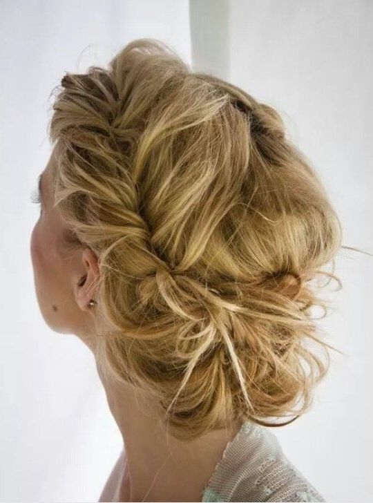 Loose Rope Braid Bohemian Updo | Editorial Hairstyling With Regard To Latest Messy Rope Braid Updo Hairstyles (View 3 of 25)