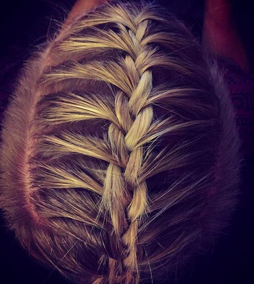 Man Braid Hairstyle Guide: New Braided Man Bun Trend – Man With Most Current Undershave Micro Braid Hairstyles (View 15 of 25)