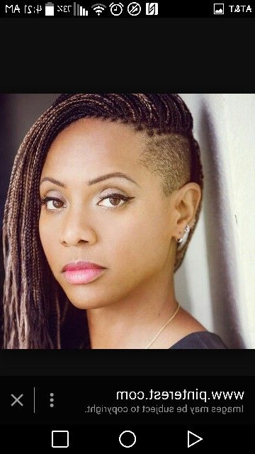 Mc Lyte In The Micro Braids Tapered Sides (View 11 of 25)