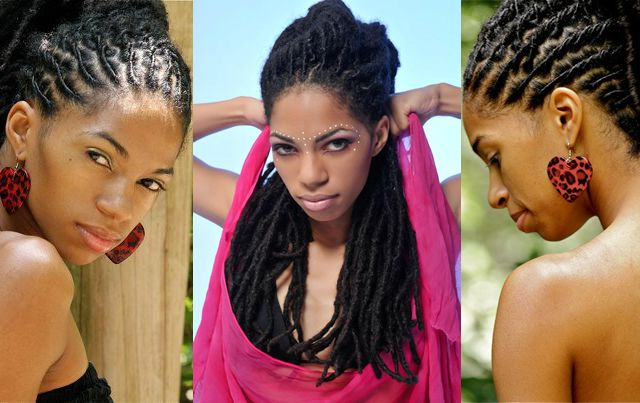 Meet This Stunning Jamaican Model With Thick Luscious Locs With Most Recent Thick And Luscious Braid Hairstyles (View 20 of 25)