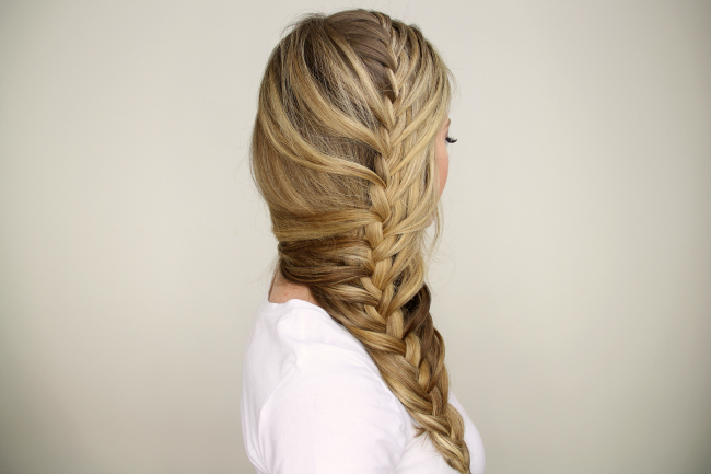 Mermaid Braid Tutorial Throughout Best And Newest Mermaid Braid Hairstyles With A Fishtail (View 20 of 25)