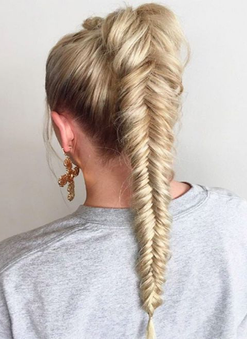 Mermaid Braids Hairstyle For 2018 | Good Hair Day | Hot Hair With Most Recent Mermaid Braid Hairstyles With A Fishtail (View 3 of 25)