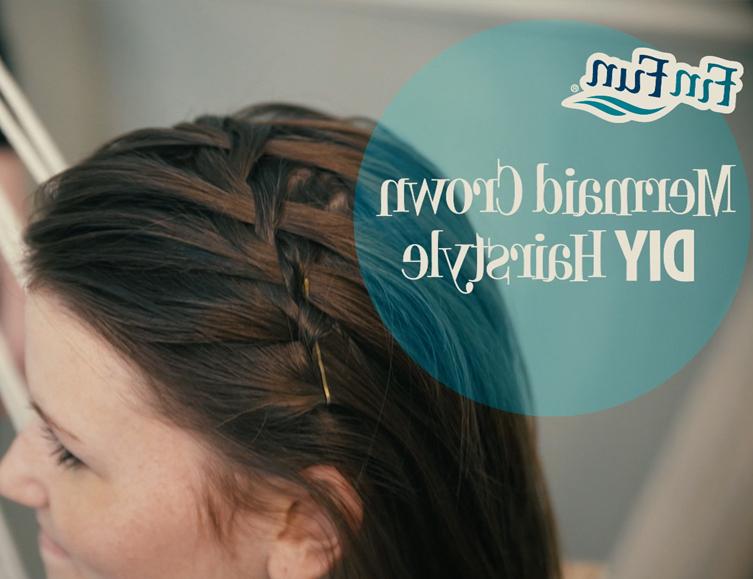 Mermaid Crown Braid | Finfriends In Newest Mermaid Crown Braid Hairstyles (View 12 of 25)