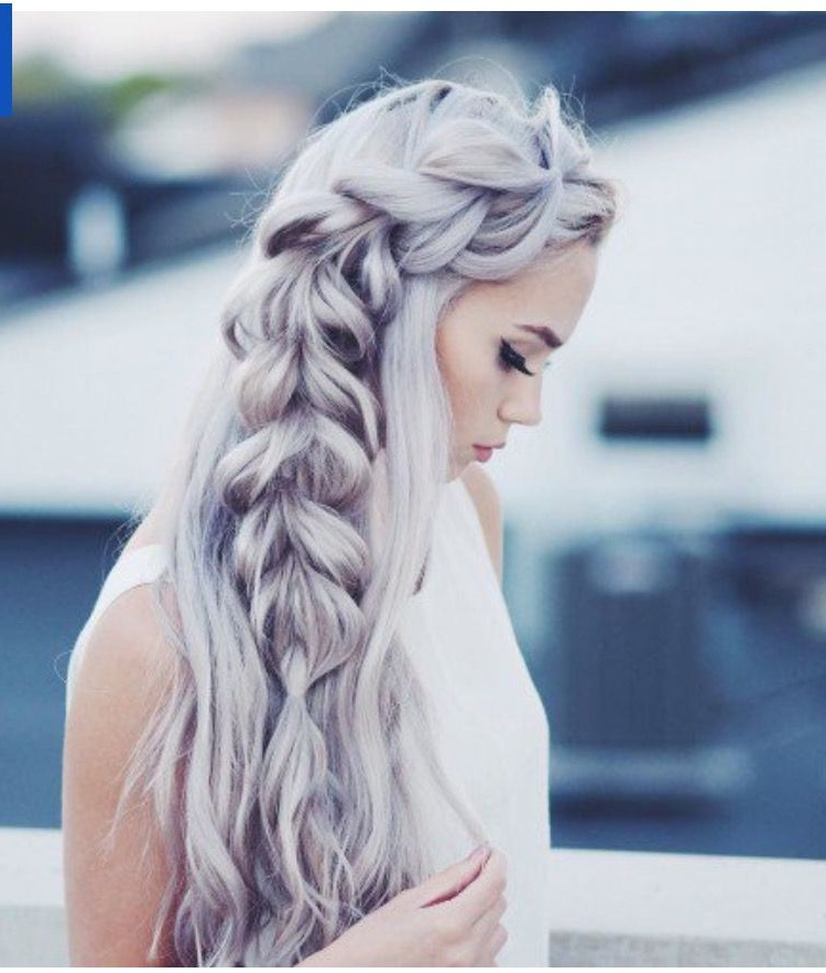 Mermaid Crown … | Possible Destination Wedding Hairstyles Pertaining To Most Up To Date Mermaid Crown Braid Hairstyles (View 5 of 25)
