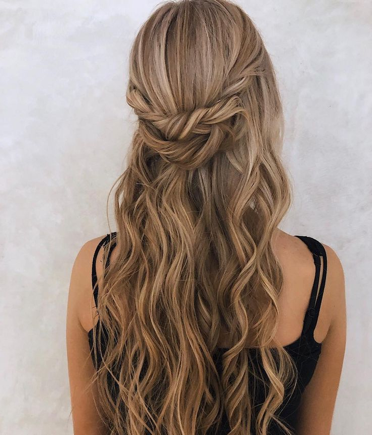 Mermaid Hair,braids Half Up Half Down Hairstyle , Boho Intended For Most Recent Boho Half Braid Hairstyles (View 11 of 25)