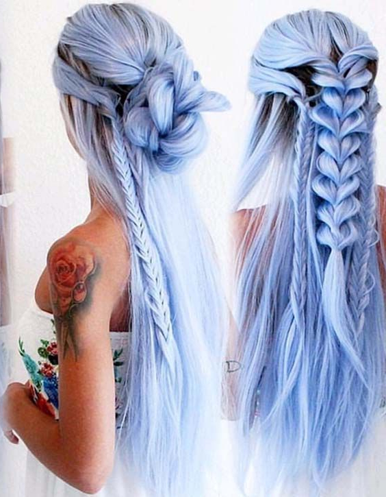 Mermaid Hairstyle Design Discoveredsasha On We Heart It Throughout Current Mermaid'S Hairpiece Braid Hairstyles (View 15 of 25)