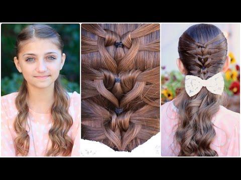 Mermaid Heart Braid   Valentine's Day Hairstyles Regarding Recent 3D Mermaid Plait Braid Hairstyles (View 12 of 25)