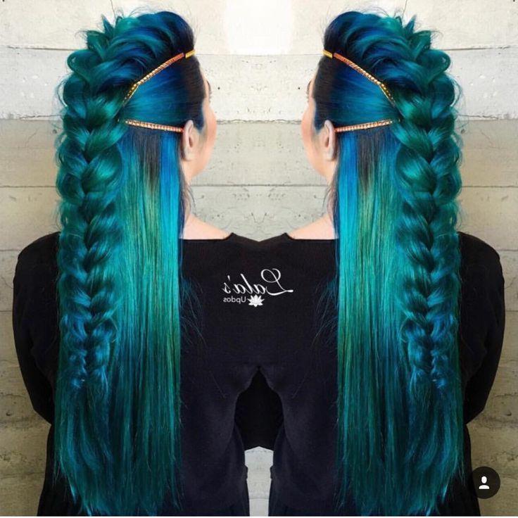 Mermaid Inspires Hair (View 9 of 25)