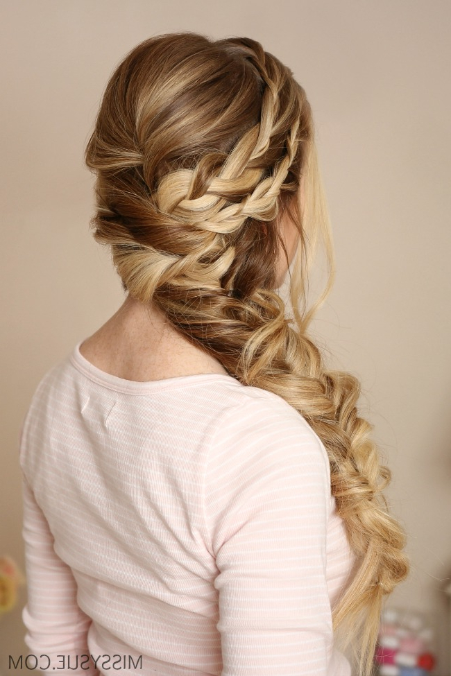 Mermaid Side Braid | Missy Sue For Most Popular Over The Shoulder Mermaid Braid Hairstyles (View 3 of 25)