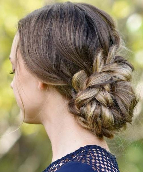 Messy Hairstyle» Blog Archive » Tremendous Rope Braided Updo Throughout Most Recently Messy Rope Braid Updo Hairstyles (View 7 of 25)