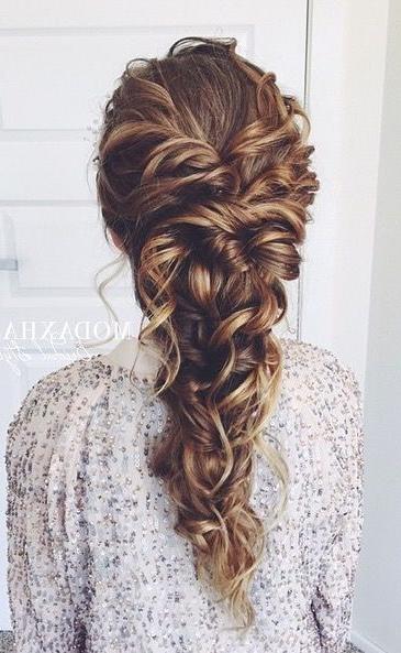 Messy Mermaid   Hair In 2019   Long Hair Styles, Curly Hair For 2018 Messy Mermaid Braid Hairstyles (View 15 of 25)