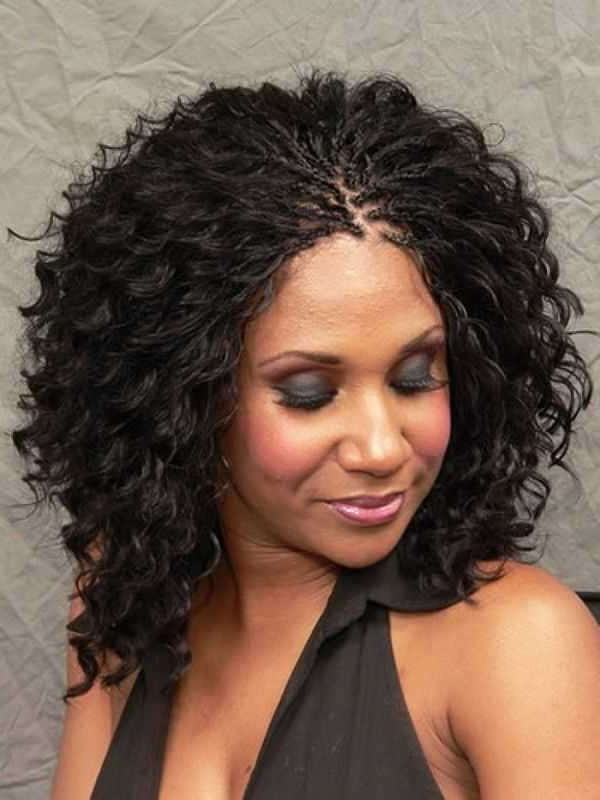 Micro Braids Wavy Hair Cool On Short Micro Braids Hairstyles For Most Recently Micro Braid Hairstyles With Curls (View 15 of 25)