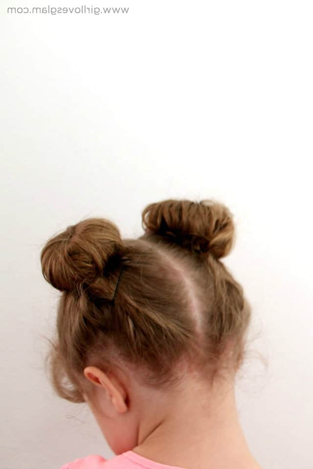 Minnie Mouse Ears Toddler Hairstyle – Girl Loves Glam Throughout Most Recent Minnie Mouse Buns Braid Hairstyles (View 10 of 25)