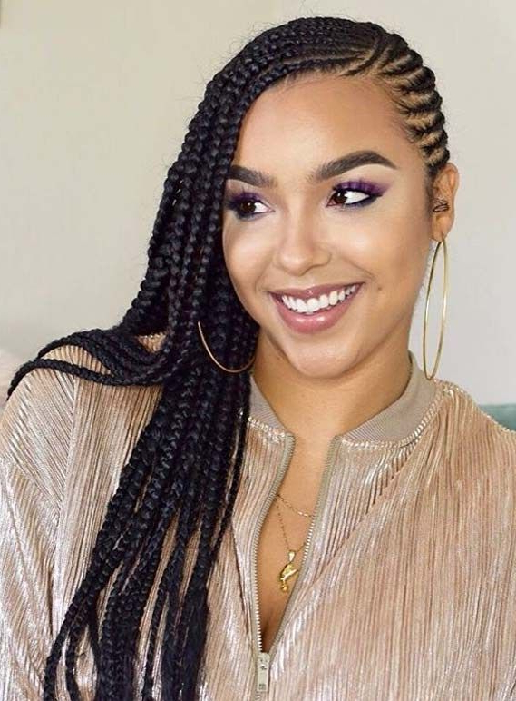 Featured Photo of Side Swept Yarn Twists Hairstyles