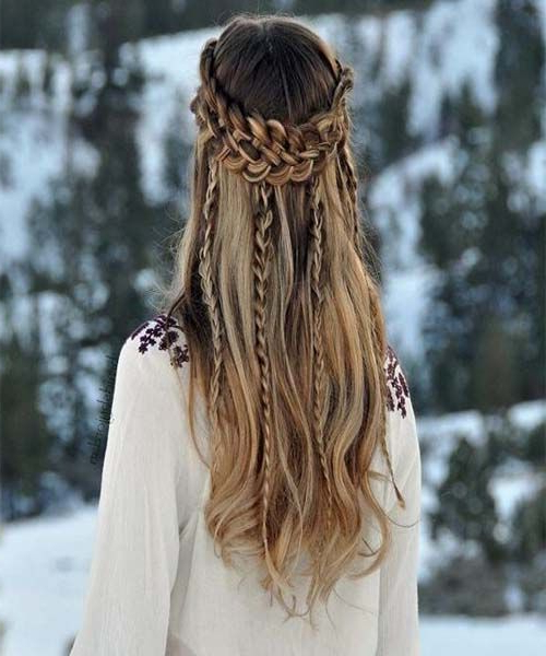 Multiple Braided Long Hairstyles For Girls 2017 | New Within Most Popular Long Hairstyles With Multiple Braids (View 4 of 25)