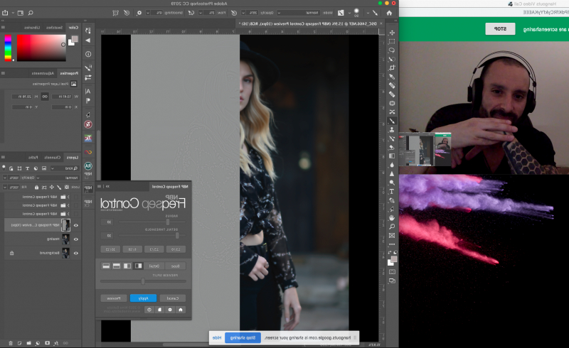Nbp Plugins – A New Collection Of Photoshop Tools Gives You With Best And Newest Low Haloed Braided Hairstyles (View 16 of 25)