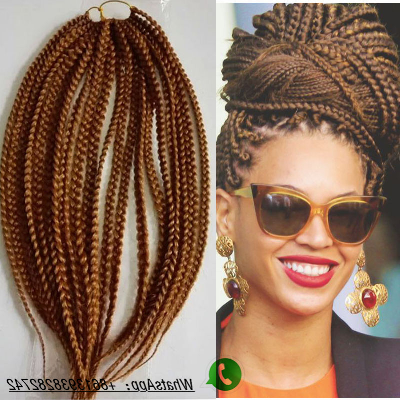New Coming! 18'' Light Or Dark Brown/gray Color Havana Mambo regarding Most Current Light Brown Braid Hairstyles