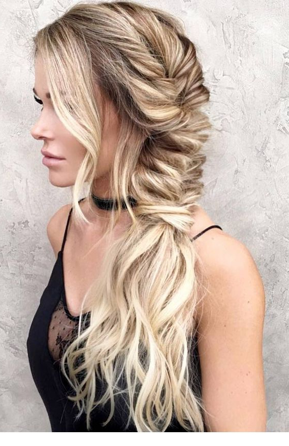 Nice Large Fishtail Braid Idea | Pins For Ladies Within Newest Oversized Fishtail Braided Hairstyles (View 9 of 25)