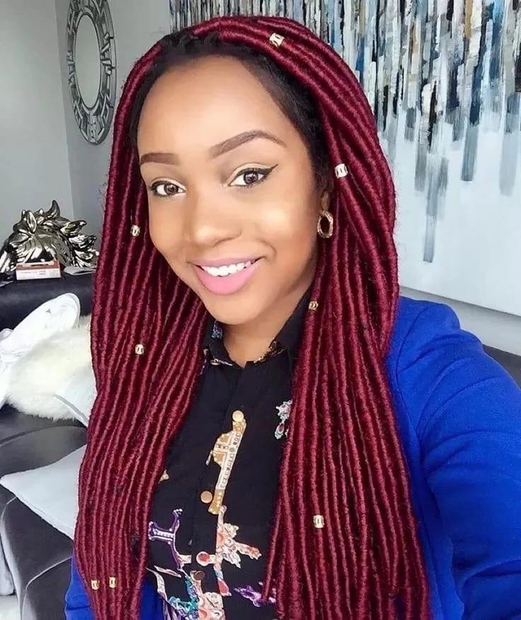 Nigerian Braids Hairstyles With Wool ? Legit (View 23 of 25)