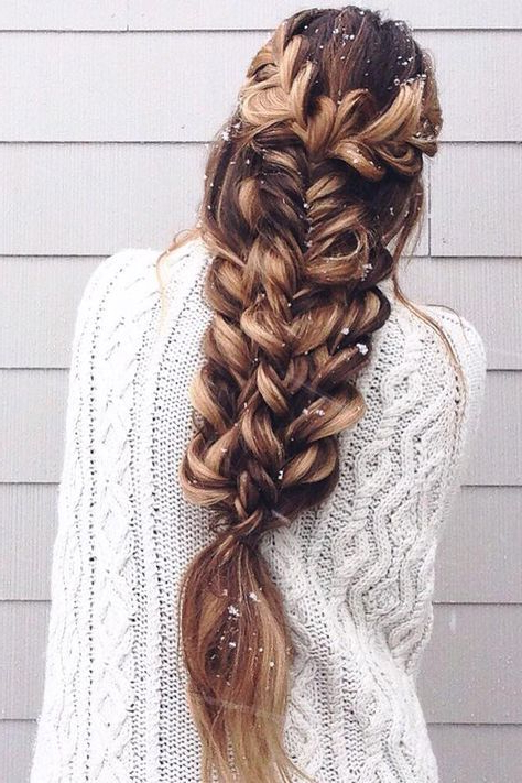 Nowadays, Braids Aren't Just A Quick Fix To Easily Manage throughout Latest Extravagant Under Braid Hairstyles