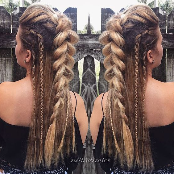 Nowadays, Braids Aren't Just A Quick Fix To Easily Manage throughout Recent Extravagant Under Braid Hairstyles