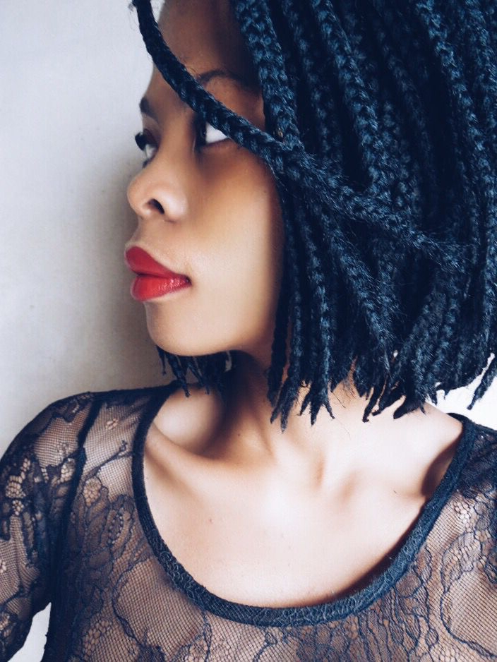On My Mind: Bob Box Braids | The Kink And I Throughout Recent Bumped And Bobbed Braided Hairstyles (View 9 of 25)