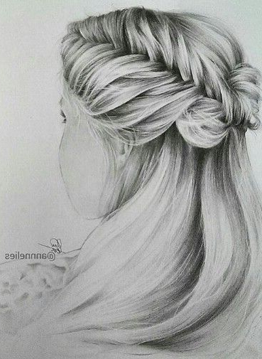 Oversized Fishtail Braided Braid Hairstyle Drawing For Most Recent Oversized Fishtail Braided Hairstyles (View 10 of 25)
