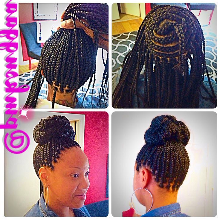 Partial Box Braids   Hair Care   Box Braids Hairstyles In Current Partial Updo Rope Braids With Small Twists (View 2 of 25)