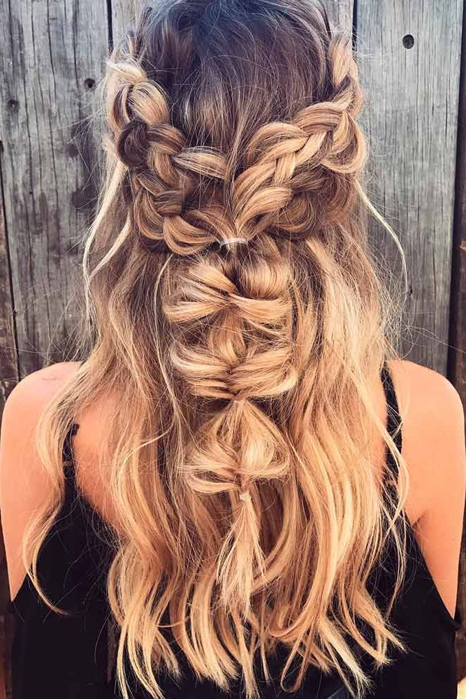 Pin On Braids On Braids Pertaining To Best And Newest Chic Bohemian Braid Hairstyles (View 16 of 25)