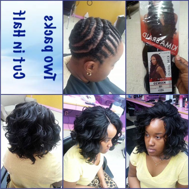 Pin On Crochet Styles For Most Current Crochet Micro Braid Hairstyles Into Waves (View 20 of 25)