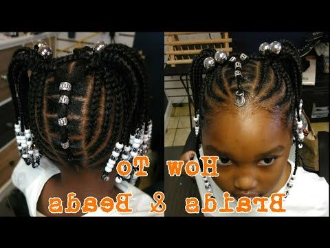 Pin On My Princess' Hair Inside Most Recent Box Braid Bead Ponytail Hairstyles (View 2 of 25)