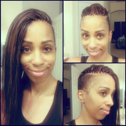 Pin On My Styles In Most Recent Tree Micro Braids With Side Undercut (View 21 of 25)