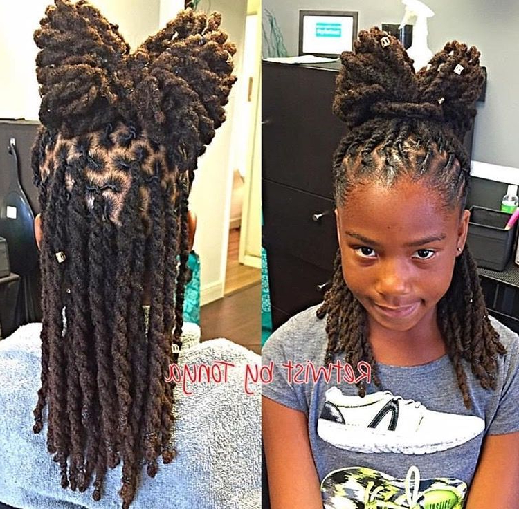 Pinafrican American Hairstyles On Natural Hair Style Regarding Current Tightly Coiled Gray Dreads Bun Hairstyles (View 7 of 25)