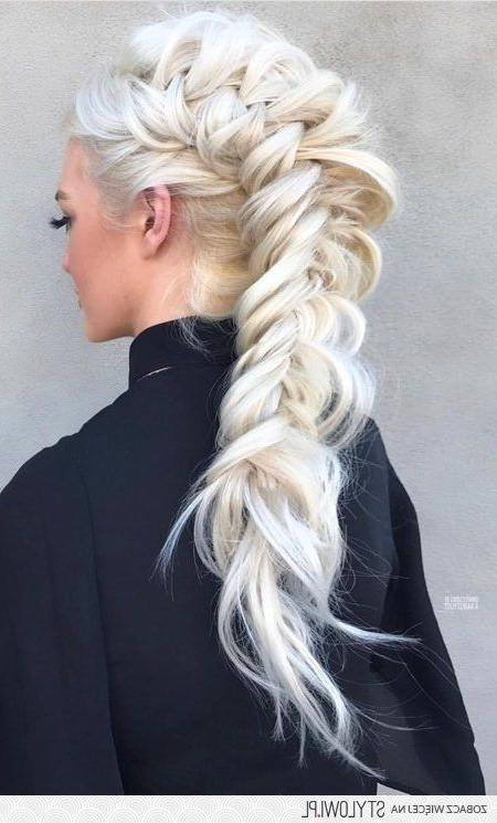 Pinchel ?? On Hair   Hair Styles, Braided Hairstyles With Regard To Most Up To Date Braided Mermaid Mohawk Hairstyles (View 5 of 25)
