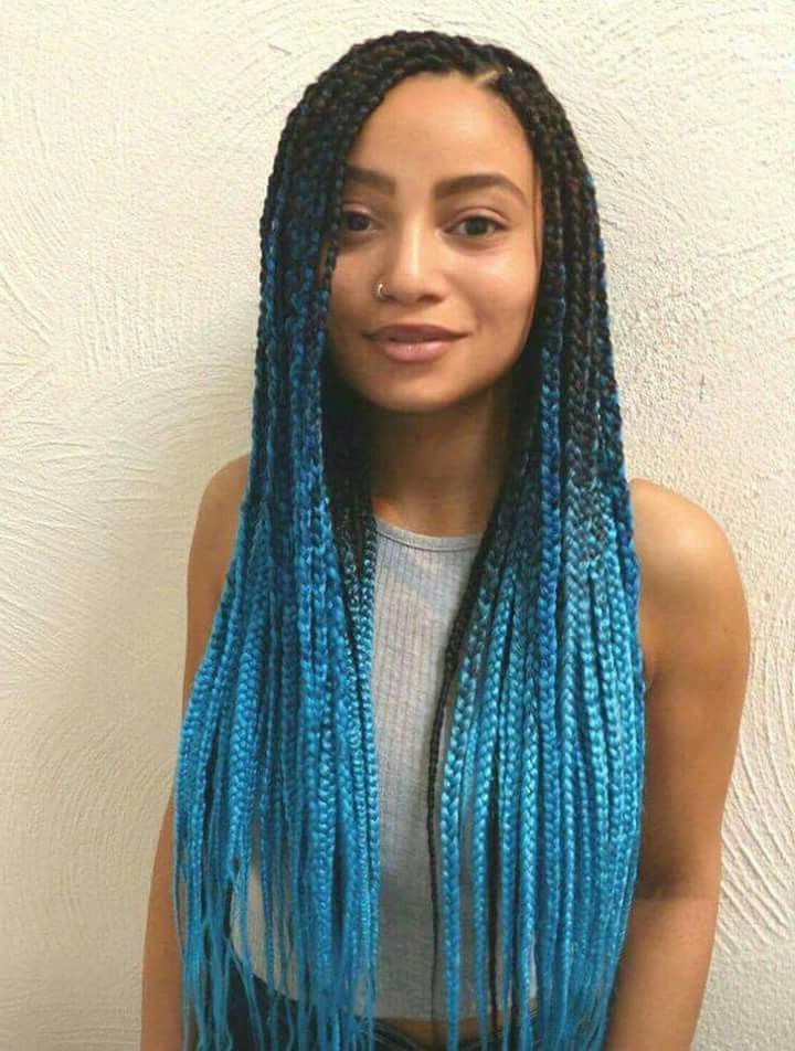 Pincindy B On Rapunzel | Braided Hairstyles, Box Braids With Regard To Latest Tight Green Boxer Yarn Braid Hairstyles (View 9 of 25)