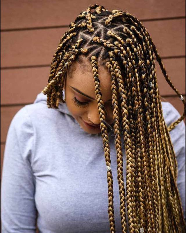 Pinterest: Kayabrigette ? | Hair In 2019 | Blonde Box For Most Popular Blonde Braid Hairstyles (View 22 of 25)