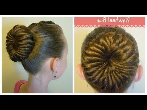 Pinwheel Bun Hairstyle, Unique Ballerina Bun With Most Recent Braided Ballerina Bun Hairstyles (View 23 of 25)