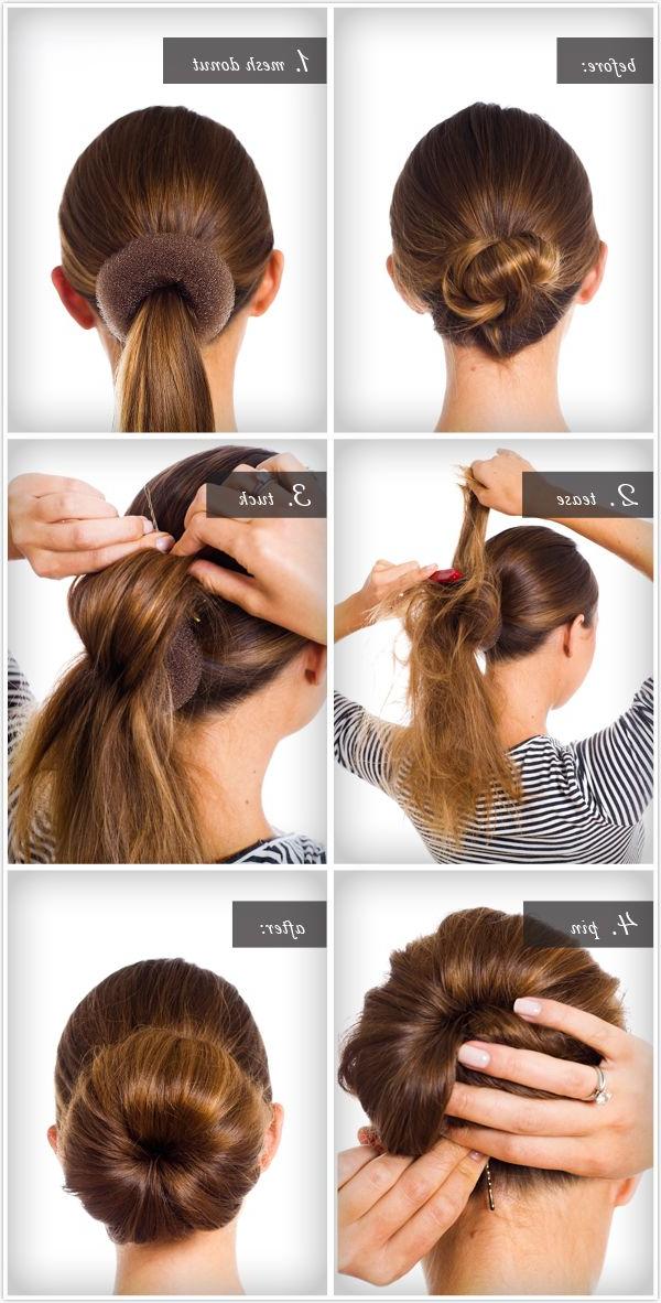 Pretty Simple :: Big Ballerina Bun | Hair Hair Hair | Hair Pertaining To Most Recent Braided Ballerina Bun Hairstyles (View 20 of 25)