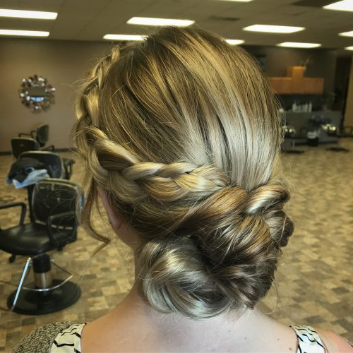 Princess Hairstyles: The 26 Most Charming Ideas For 2019 With Regard To Current Heart Shaped Fishtail Under Braid Hairstyles (View 24 of 25)