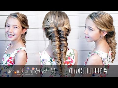 Pull Through Mermaid Braid ? For Most Current Twisted Mermaid Braid Hairstyles (View 24 of 25)