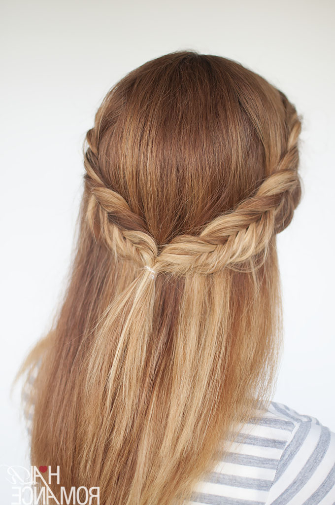 Reverse Fishtail Braid Tutorial – Two Ways For Current Thick Two Side Fishtails Braid Hairstyles (View 21 of 25)